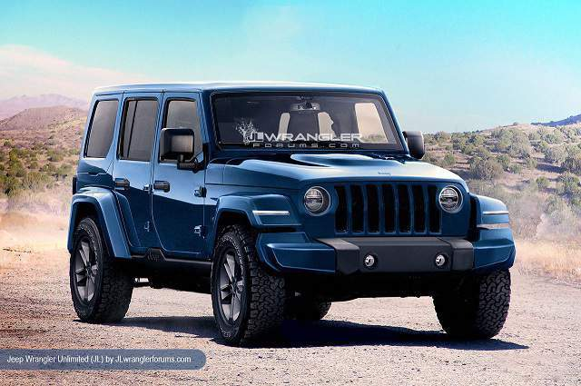 2018 Jeep Wrangler Unlimited JL front view