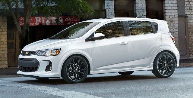 2018 Chevrolet Sonic Hatchback