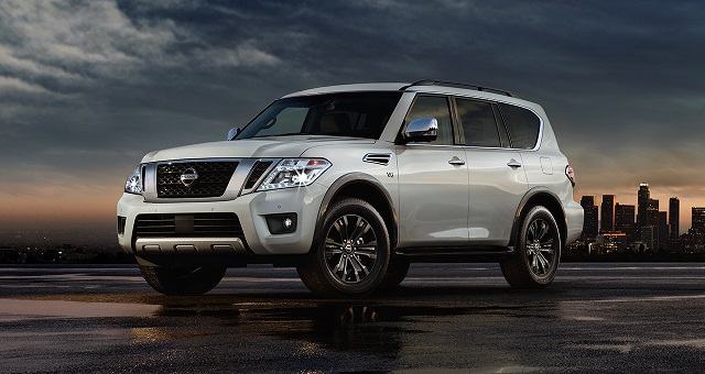 2018 Nissan Armada changes