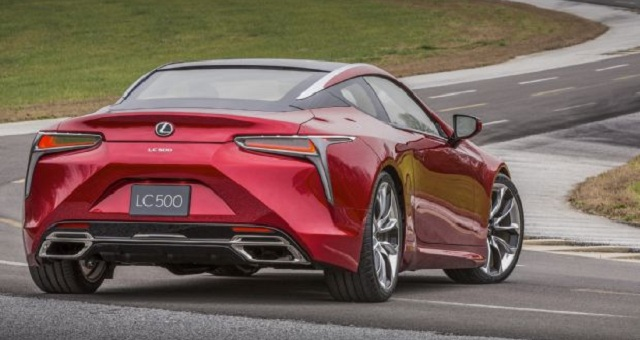 Lexus LC 500 rear view