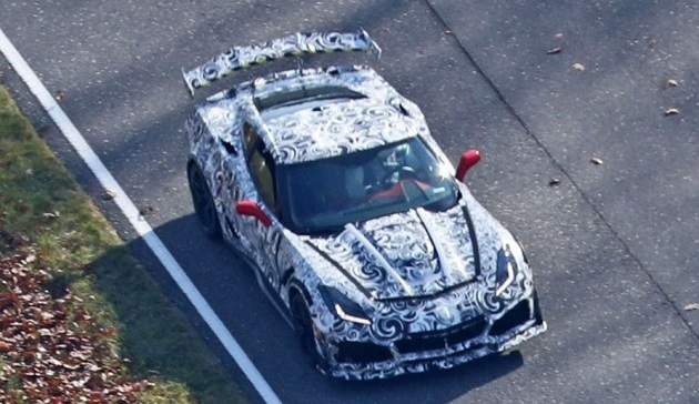 2018 Chevrolet Corvette ZR1 spy