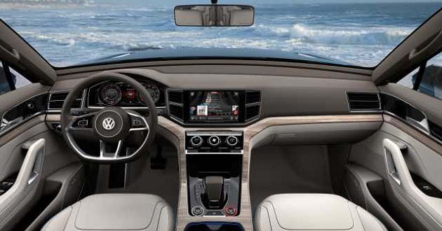 2018 VW Passat interior