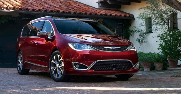 2018 Chrysler Pacifica AWD