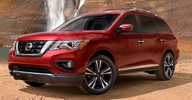2018 Nissan Pathfinder The Tough Looking People Carrier ...