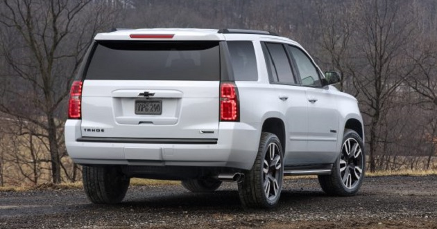 2018 Chevrolet Tahoe rear view