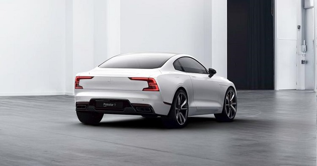 rear view of 2020 Polestar 1